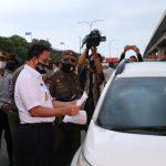 Pantau Akses Masuk Ke Jakarta, Gubernur Anies Pastikan Penegakan Pergub 47/2020 Berjalan Baik
