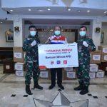 Pertamina Distribusikan APD dan Masker bagi Tenaga Medis TNI AL