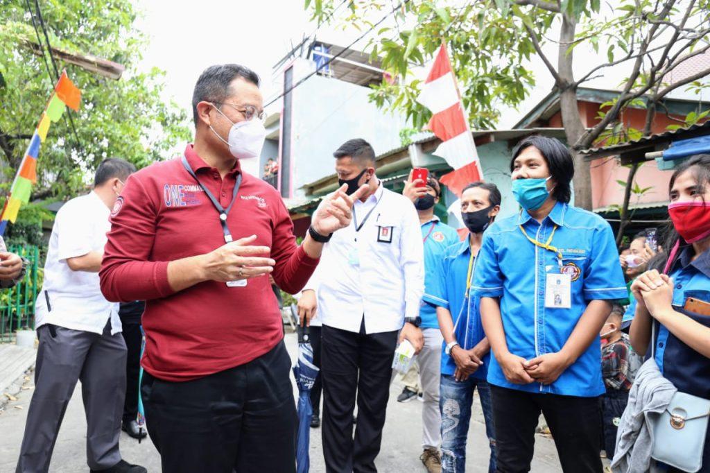Sapa Warga Tanjung Priok, Mensos Sampaikan Salam dari Presiden 1