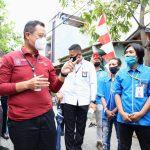 Sapa Warga Tanjung Priok, Mensos Sampaikan Salam dari Presiden