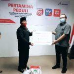 Satgas Bencana BUMN Pertamina Salurkan 7.500 Paket Sembako di Kepri