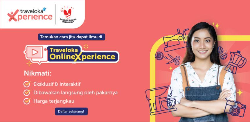 Dukung Gerakan Nasional BanggaBuatanIndonesia, Traveloka Luncurkan Online Xperience 1