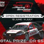Inovasi Jelang Normal Baru, Honda Gelar Kejuaraan Simulator Balap untuk yang Pertama Kalinya di Indonesia