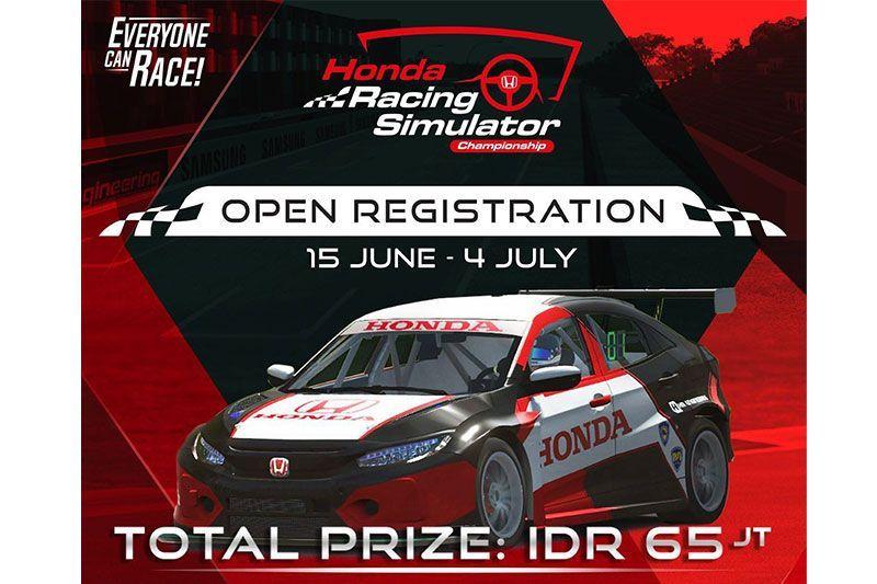 Inovasi Jelang Normal Baru, Honda Gelar Kejuaraan Simulator Balap untuk yang Pertama Kalinya di Indonesia 1