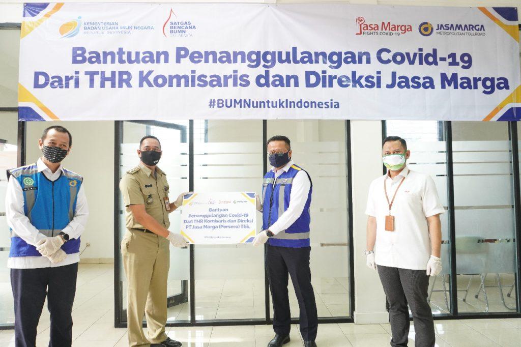 Jasa Marga Salurkan THR Direksi dan Komisaris Jasa Marga Group untuk Masyarakat Terdampak Covid-19 1