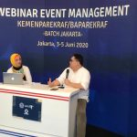 Kemenparekraf Gelar Pelatihan Daring untuk Pekerja Event di 11 Daerah Terdampak COVID-19