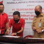 Kolaborasi Telkomsel dan Dinas Pendidikan & Kebudayaan Tangerang Selatan Hadirkan Layanan Komunikasi Terjangkau Untuk 500 Lembaga Pendidikan