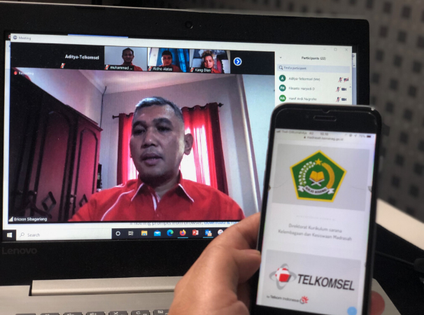 Kolaborasi Telkomsel dan Kementerian Agama RI Hadirkan Program Bantuan Kuota Terjangkau Madrasah 2