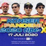 Tipe-X Gelar Konser Pandemi 2020 untuk Korban Covid-19