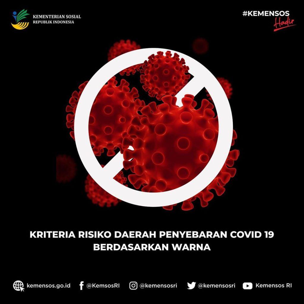 Kriteria Resiko Daerah Penyebaran COVID-19 Berdasarkan Warna 1