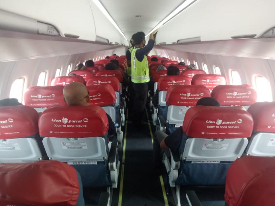 Lion Air Group Memastikan Kualitas Udara dan Kebersihan Kabin Pesawat Jet Boeing Terjaga Baik 1