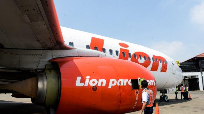 Lion Air Group Menjalankan Pengaturan Sistem Jarak Aman (Physical Distancing) di Dalam Kabin Pesawat Udara 1