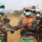Satgas TNI Konga XXXIX-B RDB/MONUSCO Berhasil Rangkul Milisi Malaika Group di Republik Demokratik Kongo