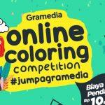 Mengasah Kreativitas di Masa Pandemi dengan Gramedia Online Coloring Competition