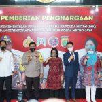 Berhasil Ungkap Kasus Eksploitasi dan Perdagangan Anak, Menteri Bintang Berikan Penghargaan Kepada 36 Aparat Penegak Hukum (APH)