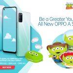OPPO Kembali Berkolaborasi dengan Disney Luncurkan Enco W11 Disney and Pixar's Toy Story Edition