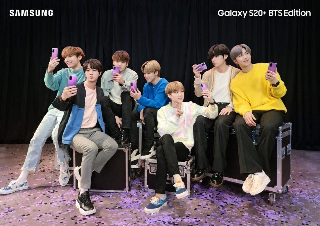 I Purple You: Samsung Perkenalkan Galaxy S20+ dan Galaxy Buds + Edisi Khusus BTS 1