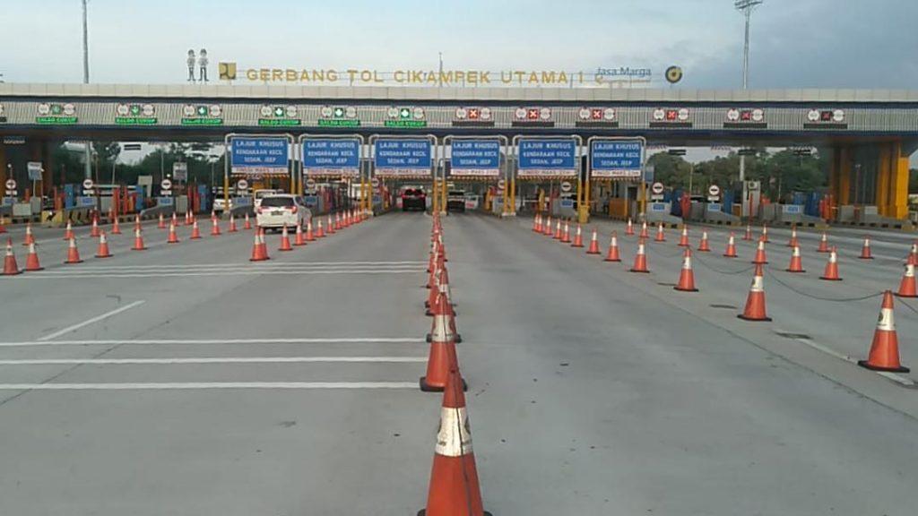 Satu Minggu Periode New Normal dan PSBB Transisi, Jasa Marga Catat LHR Sekitar 100 Ribu Kendaraan Menuju Jakarta 1