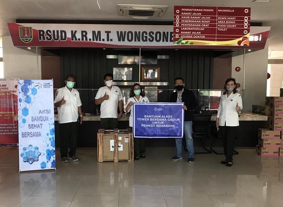 TBIG Donasikan Ventilator dan APD untuk Dukung Pemerintah Provinsi Jawa Tengah Tangani Covid-19 1