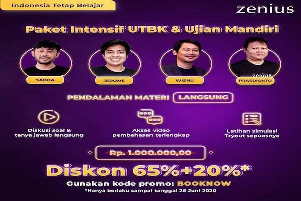 Utbk Sebulan Lagi Berikut Strategi Persiapan Efektif Ala Zenius Education All Release Indonesia