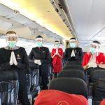 AirAsia Laksanakan Dua Penerbangan Khusus Repatriasi Warga Negara Indonesia dan India