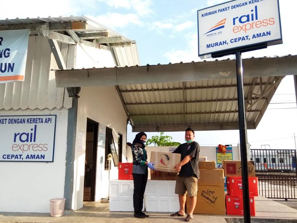 Angkutan Barang Murah, Cepat, dan Aman Menggunakan Rail Express 1