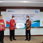 Direksi dan Komisaris WIKA Sisihkan Tunjangan Hari Raya untuk Penanggulangan Covid-19 Jakarta Timur