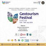 Geowisata NTB Dipromosikan Secara Virtual Lewat Geotourism Festival 2020