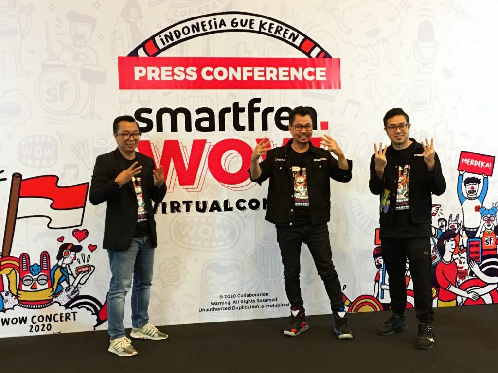 Jelang Perayaan Kemerdekaan, Smartfren Hadirkan Konser Virtual Interaktif dari 3 Negara 16 Juli 2020 1