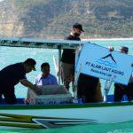 KKP Lepasliarkan 260 Ekor Lobster Hasil Budidaya di Kawasan Konservasi