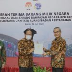 KPK Serahkan Aset Senilai Rp36 Miliar ke Kementerian Agraria dan Tata Ruang