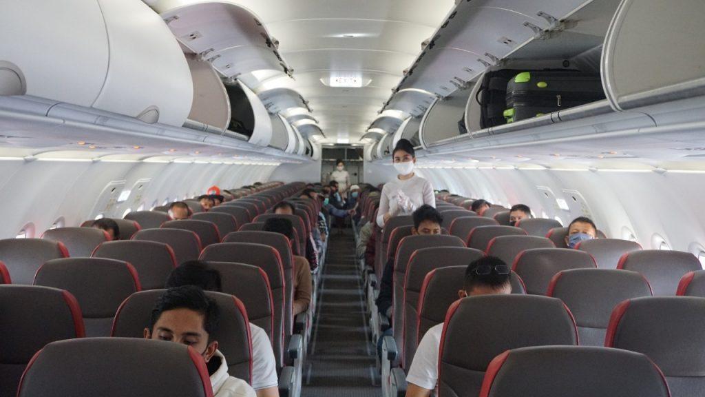 Kebersihan Kabin dan Sirkulasi Udara Tetap Terjaga pada Pesawat Jet Airbus Lion Air Group 1
