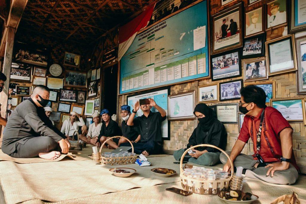 Kemenparekraf Dukung Pembatasan Kunjungan ke Desa Suku Baduy 1