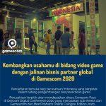 Kemenparekraf Fasilitasi Pengembang Game Lokal Ikut Ajang Internasional Gamescom 2020