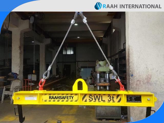 Memanfaatkan Produk Keamanan RS Lifting Beam untuk Mengangkat Silinder Gas Klorin Berat 1