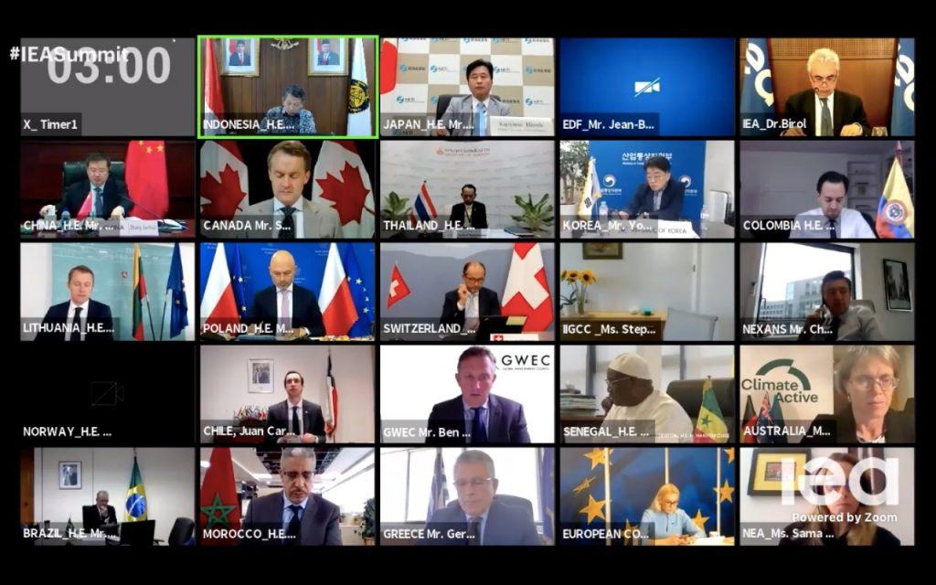 Menteri ESDM Kembali Sampaikan Komitmen Peningkatan Energi Terbarukan pada Konferensi IEA terkait Transisi Energi 1