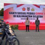 Panglima TNI Melepas Ratusan Babinsa dan Bhabinkamtibmas Pengantar Bansos