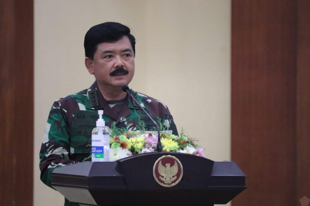 Panglima TNI Pimpin Rapat Gugus Tugas Covid-19 di Kalimantan Selatan 1