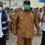 Pelindo IV Ekspor Perdana 18 Ton Serabut Kelapa dari KNP