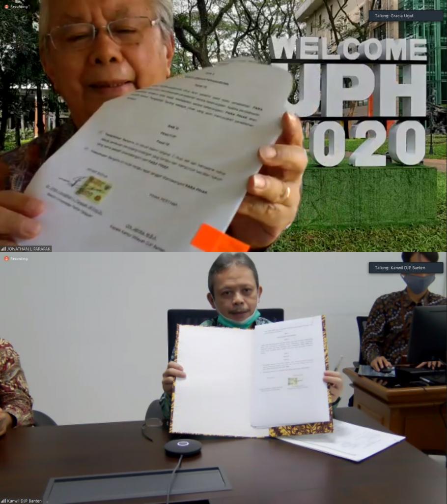 Perkuat Pemahaman Dunia Pajak, UPH Jalin Kerja sama dengan DJP Banten 1