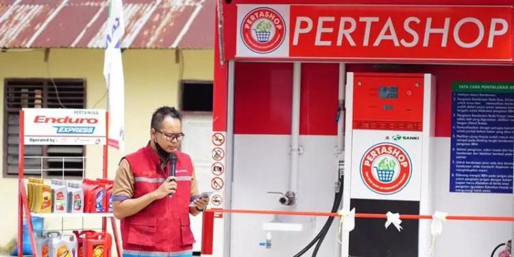 Pertashop Sambangi Gorontalo, Kini Masyarakat Desa Mahiyolo Bisa Peroleh Pertamax Dengan Mudah 1