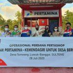 Pertashop Sambangi Sulawesi Tengah, Kabupaten Banggai Jadi yang Pertama