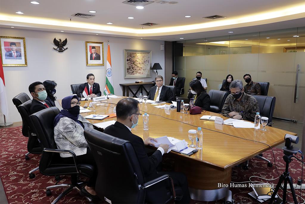 Pertemuan Menteri Perdagangan Indonesia dan India: Bahas Terobosan Hadapi Covid-19 1