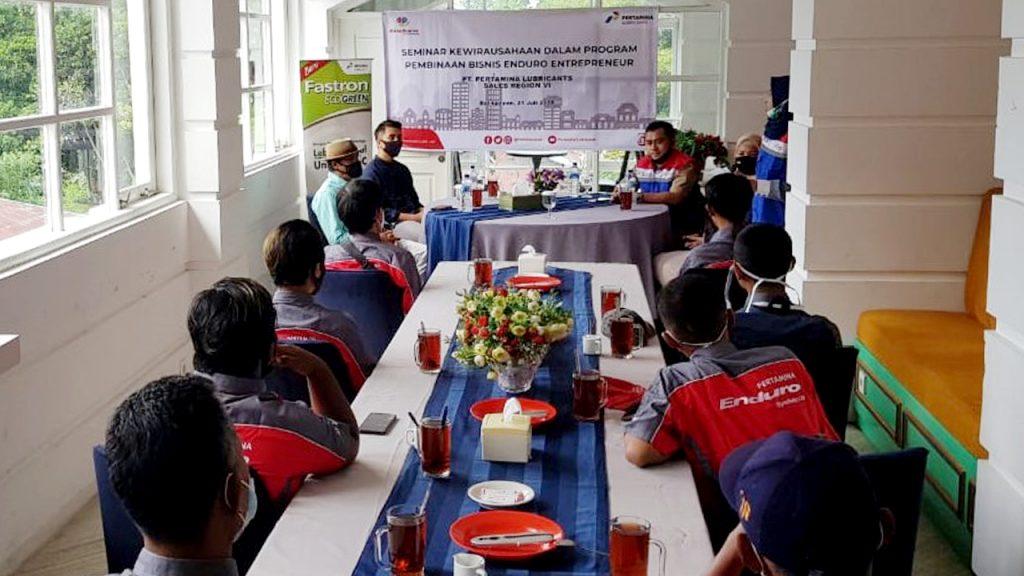 Peserta Enduro Entrepreneurship Program (EEP) Balikpapan Belajar Bisnis 1