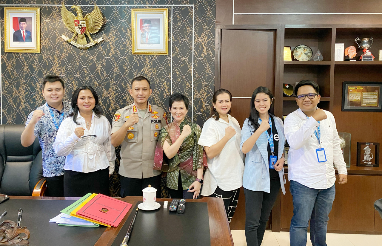 Qlue Helps South Jakarta Regional Police Compile Data-Based Plans