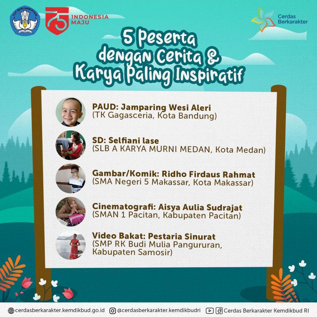Hari Anak Nasional, Pesan Mendikbud: Situasi Sulit Kuatkan Semangat Belajar Anak Indonesia 3