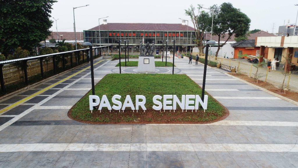Stasiun Pasar Senen, Stasiun Bersejarah yang Menjadi Stasiun Terpadu 1
