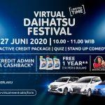 Beli Mobil Baru? di Virtual Daihatsu Festival aja!