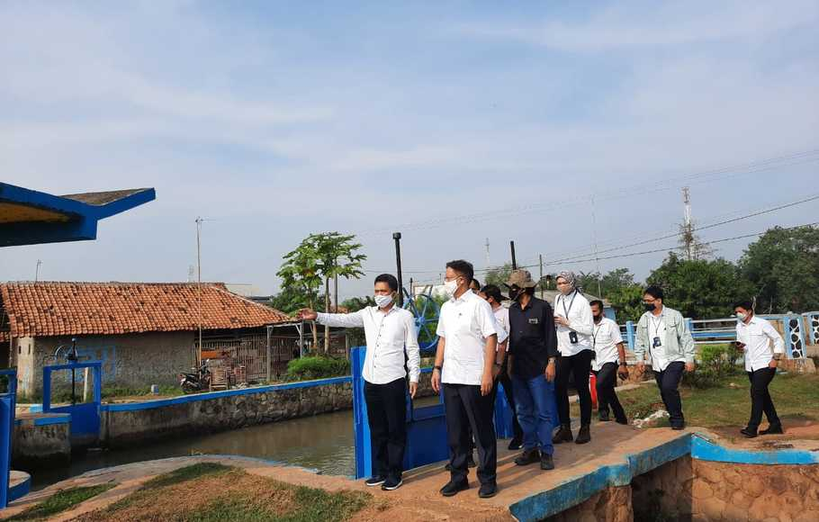 Wakil Menteri BUMN I Kunjungi Pilot Project Food Estate Sukamandi yang digarap BUMN Klaster Pangan 1