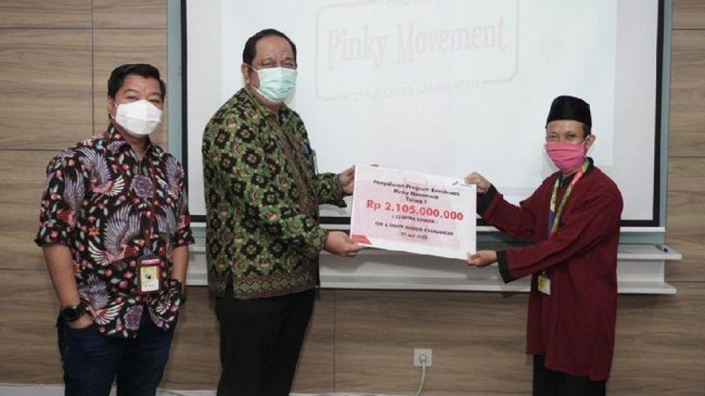 Wujudkan Kedaulatan Energi Negeri, Pertamina Salurkan Program Pinky Movement 2 Milyar Rupiah 1